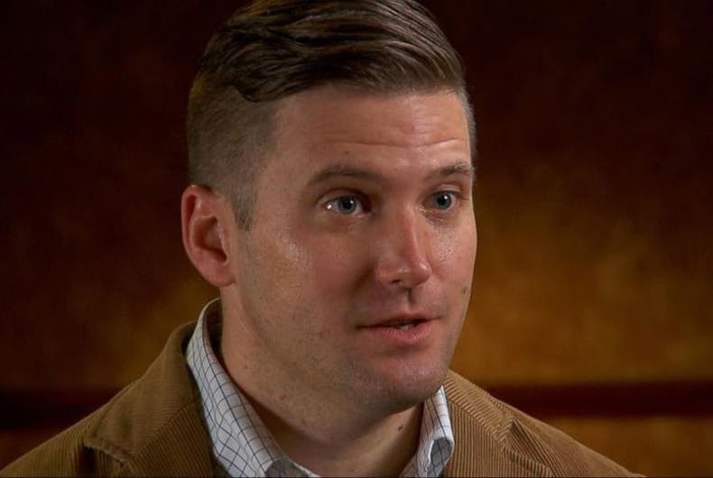 Richard Spencer is a clean cut white man and a total Anti-Semitic racist.