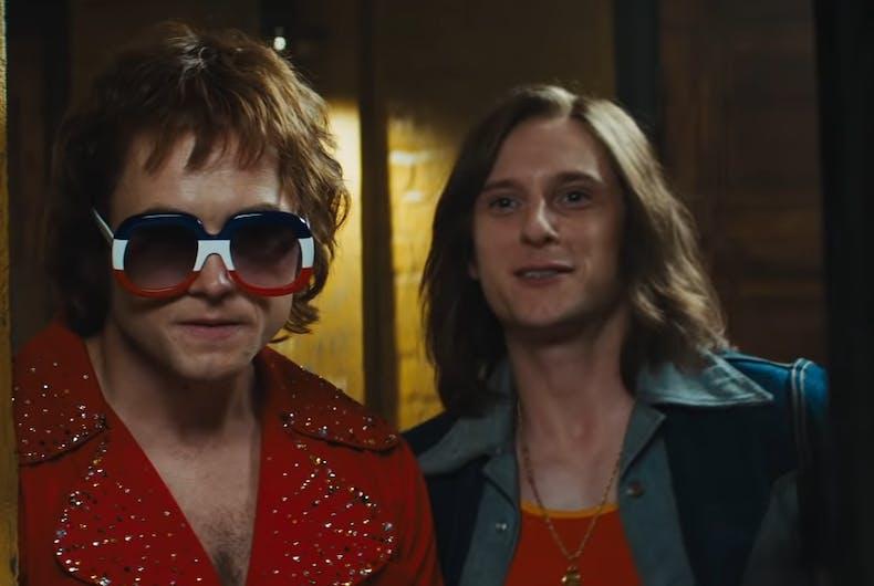 Scene from the trailer for 'Rocketman'
