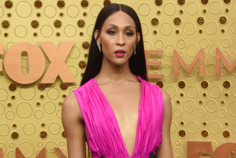 Mj Rodriguez at the Primetime Emmy Awards - Arrivals at the Microsoft Theater on September 22, 2019 in Los Angeles, CA.