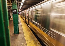 "A man was pushed onto subway tracks & called ""f****t"" in a terrifying attack"