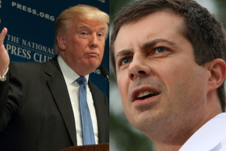 Trump's revelation that he dreams about Pete Buttigieg doesn't sit well with the candidate