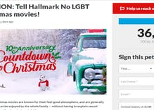 We asked Hallmark for a gay Christmas movie. Conservatives were scared and created a fake petition.