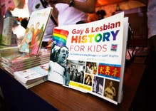 LGBTQ history is being taught in schools now. But what's in the textbooks?