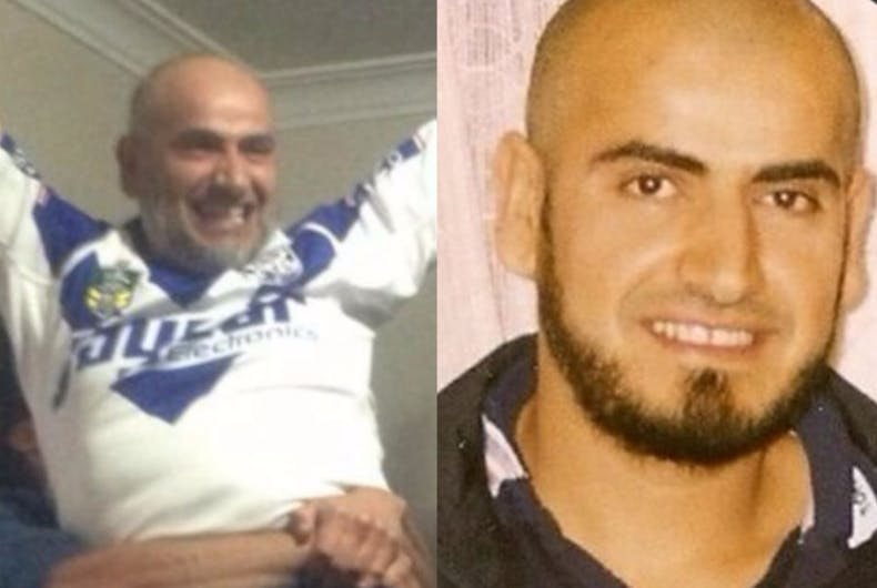 Mahmoud (left) and Khaled Khayat