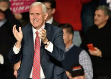 "Pence tells evangelicals to pray for ""four more years"" if they want to get rich"