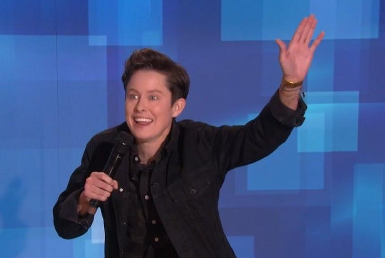 Rhea Butcher on Ellen's show