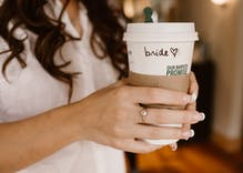 Strangers at Starbucks stepped in after brides' wedding plans were ruined