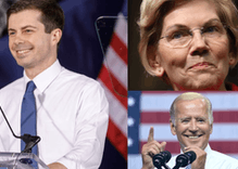 Financial gap widens between contenders and pretenders in election race