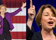 New York Times endorses both Warren & Klobuchar as 'the radical and realist models' for President