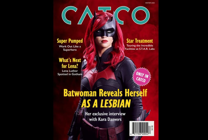 Batwoman came out in an interview with journalist Kara Danvers