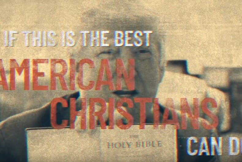 Devastating Republican ad slams evangelical Trump supporters as power-hungry grifters