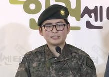 South Korea discharged its first transgender soldier. She's planning to sue.