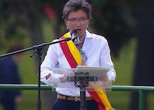 A history-making lesbian mayor in Colombia has been sworn in