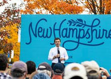 Buttigieg has slight edge in New Hampshire in latest polling