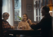 A coffee ad featuring lesbian teens making out has gone viral