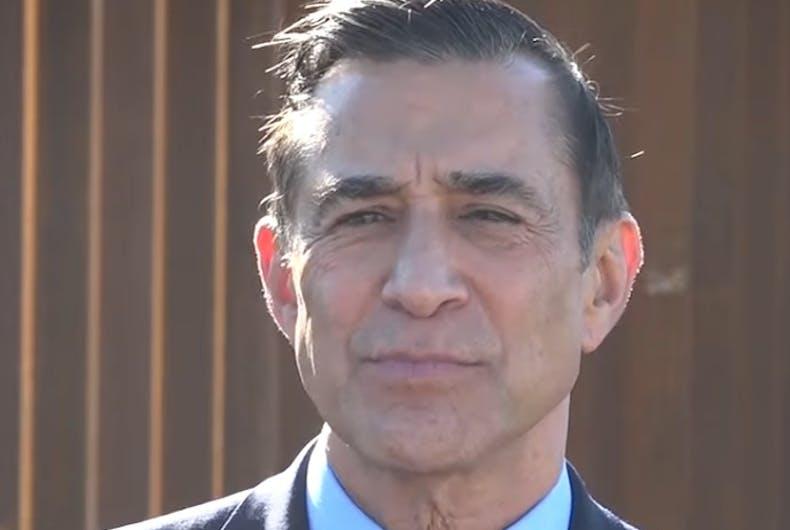 Former Rep. Darrell Issa (R)