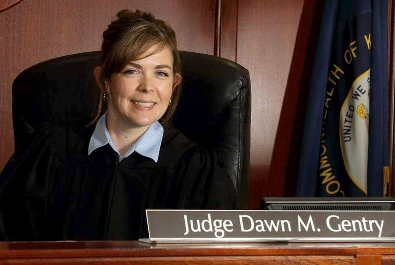 Kentucky family court judge Dawn Gentry