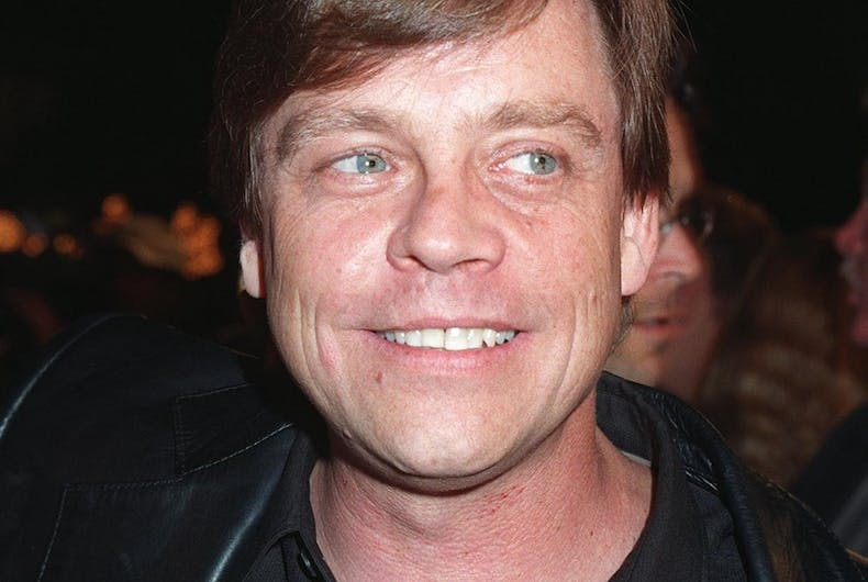 Mark Hamill at the 1997 premiere of