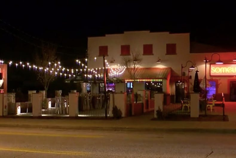 Nowhere bar is an supposedly LGBTQ-friendly establishment in Louisville, Kentucky