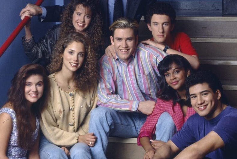 The original cast of the '90s teen series