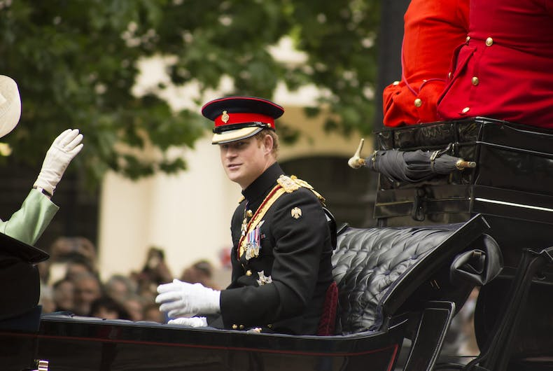 A soldier reveals how Prince Harry once stood up to homophobia in his platoon