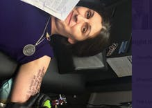 Trans politician Danica Roem got the Equal Rights Amendment tattooed to her arm