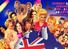 A gay bar is holding a 12-hour drag event to raise funds for Australia's deadly bushfires