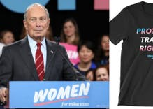 Bloomberg hasn't apologized for anti-trans past but is selling a 'protect trans rights' tee
