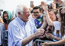 Bernie Sanders is the frontrunner to become the Democratic nominee