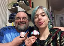 Dad goes viral for tweeting about trans son's party to celebrate transition
