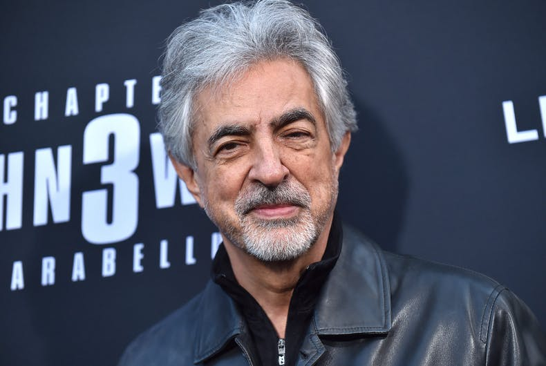 Joe Mantegna arrives for the John Wick: Chapter 3 - Parabellum' L.A. Special Screening on May 15, 2019.