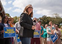 Sarah McBride is set to be the first transgender state senator in the U.S. after primary win