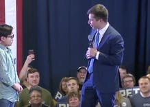 Watch Pete Buttigieg help a 9-year-old boy come out
