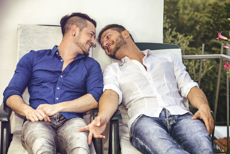 Gay couples have less stressful marriages than straight couples according to science