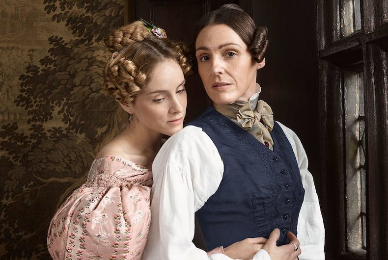 An image from the 19th century historic drama series