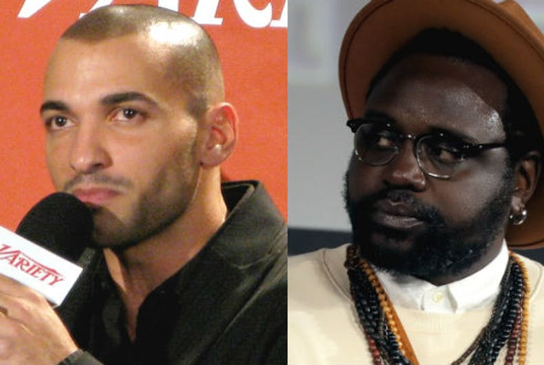 Haaz Sleiman and Brian Tyree Henry will play a gay spouse and gay superhero, Phastos, in Marvel's