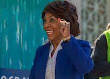 EXCLUSIVE: Maxine Waters cheers Mayor Pete's likely Iowa win