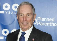 "Mike Bloomberg said trans rights are about ""some man wearing a dress"" using a locker room with girls"