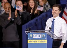 Pete Buttigieg officially won Iowa & LGBTQ people are feeling the historic moment