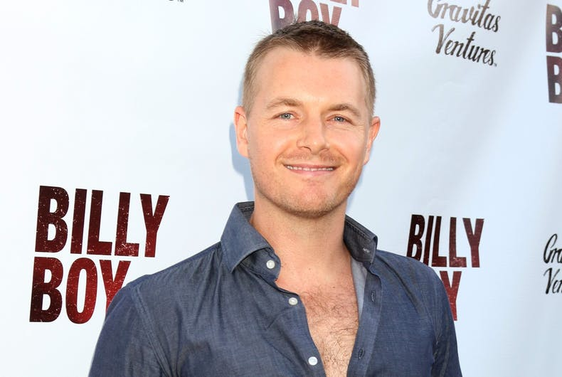 Rick Cosnett at the LA premiere of