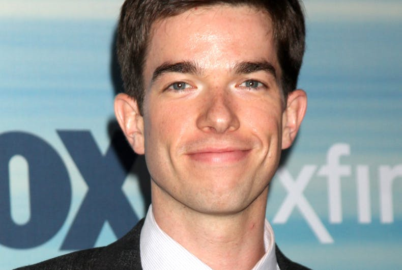 LOS ANGELES - SEP 8: John Mulaney at the 2014 FOX Fall Eco-Casino at The Bungalow on September 8, 2014 in Santa Monica, CA