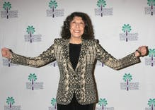 Lily Tomlin is leaving her handprint and footprint on Hollywood Blvd. in legendary honor