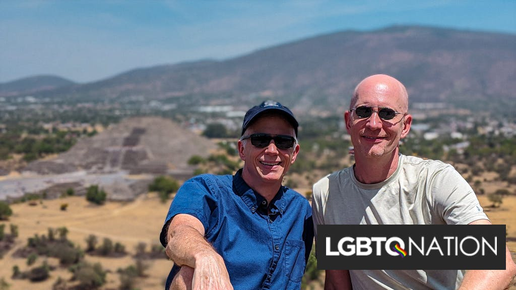 We've lived all over the world as a gay couple. Now we're holed up in suburban Texas.