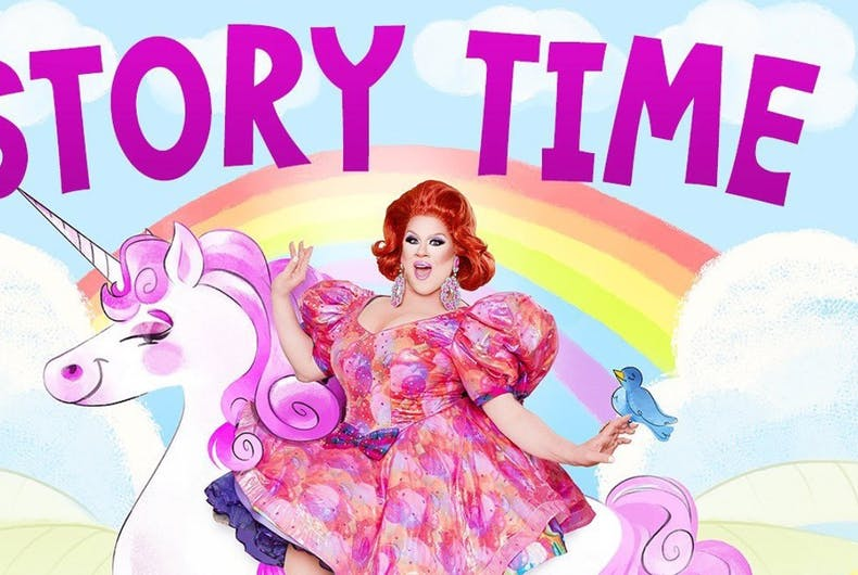 Nina West is holding drag queen story time online until the pandemic passes