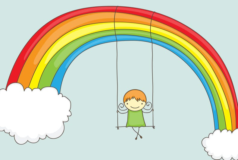 This mom is pissed quarantined people are putting rainbows in windows to cheer up children