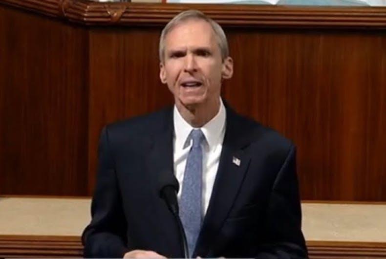 Anti-LGBTQ Illinois Democrat Dan Lipinski was defeated last night in his U.S House race against Marie Newman.