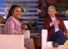 Demi Lovato tells Ellen that she really wants to make out with Rihanna