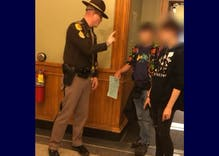 State cops threw 250 kids out of the Iowa state capitol because trans boys used the restroom
