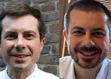 Pete Buttigieg has completed his transformation from gay geek to scruffy stud
