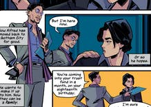 Alfred is Bruce Wayne's gay uncle in new Batman graphic novel